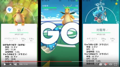 Video gyarados is the best to beat dragonite pokemon go